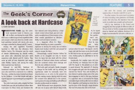 A Look back at Hardcase. (NewsVille December 6-19, 2018 issue)