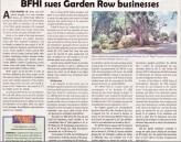 BF Homes developer sues Garden Row businesses story (NewsVille, March 15-28, 2018 issue)