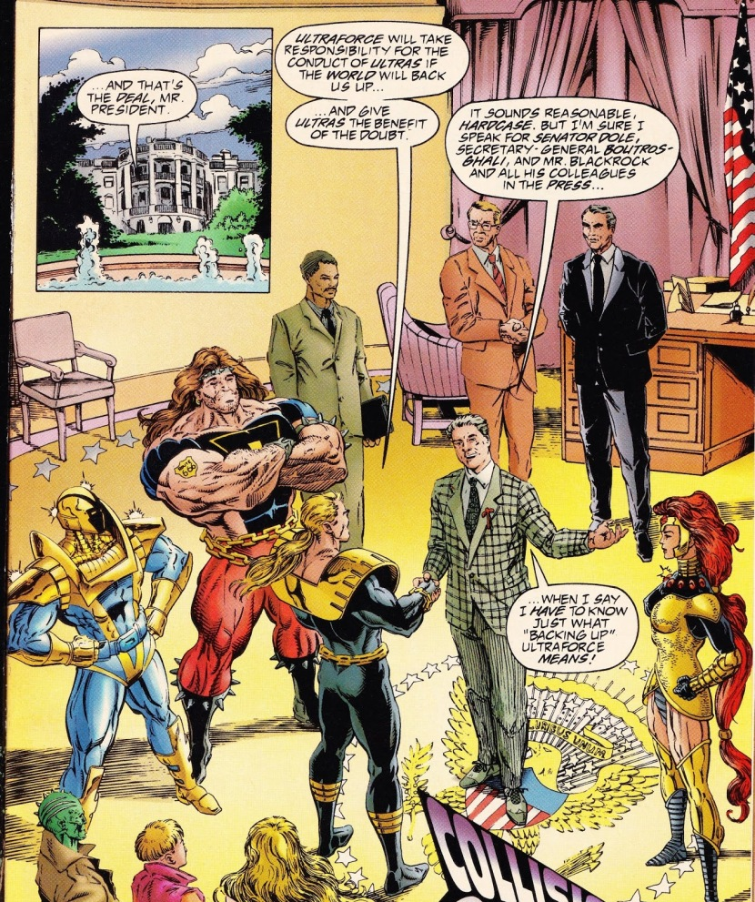 When Superheroes, Politicians and Corporate Media Conspire Together