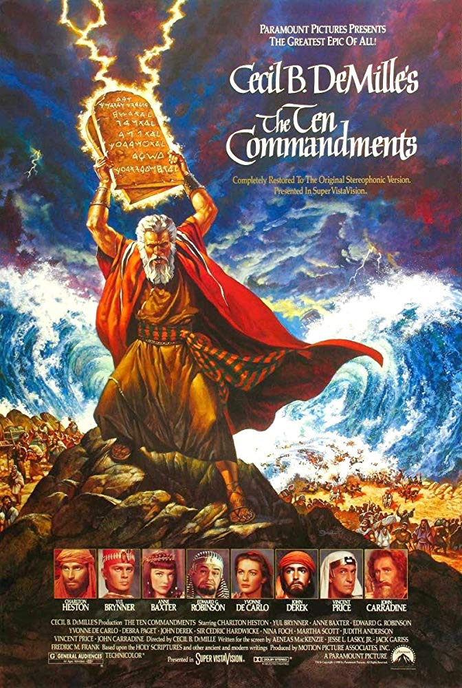 "You Want The Truth About The Ten Commandments? Pay Attention To The Holy Bible, Not The 1956 ""Classic"" Movie."
