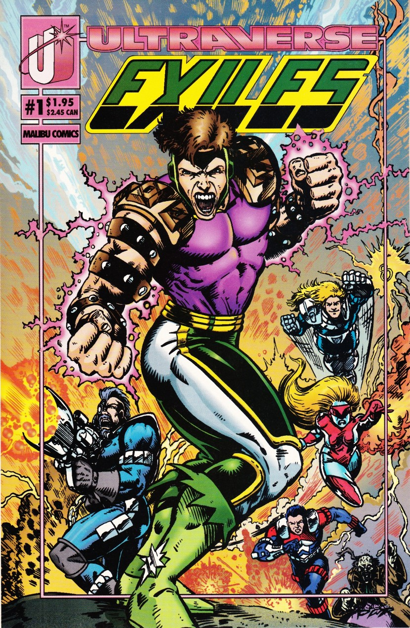 A Look Back At Exiles #1(Ultraverse)