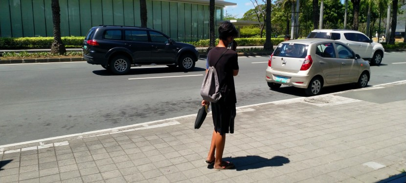 My Observations: Beware of Discreet, Sign-carrying Beggar in Alabang