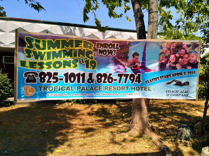 My Observations: Summer Swimming Lessons in BF International to begin on April8