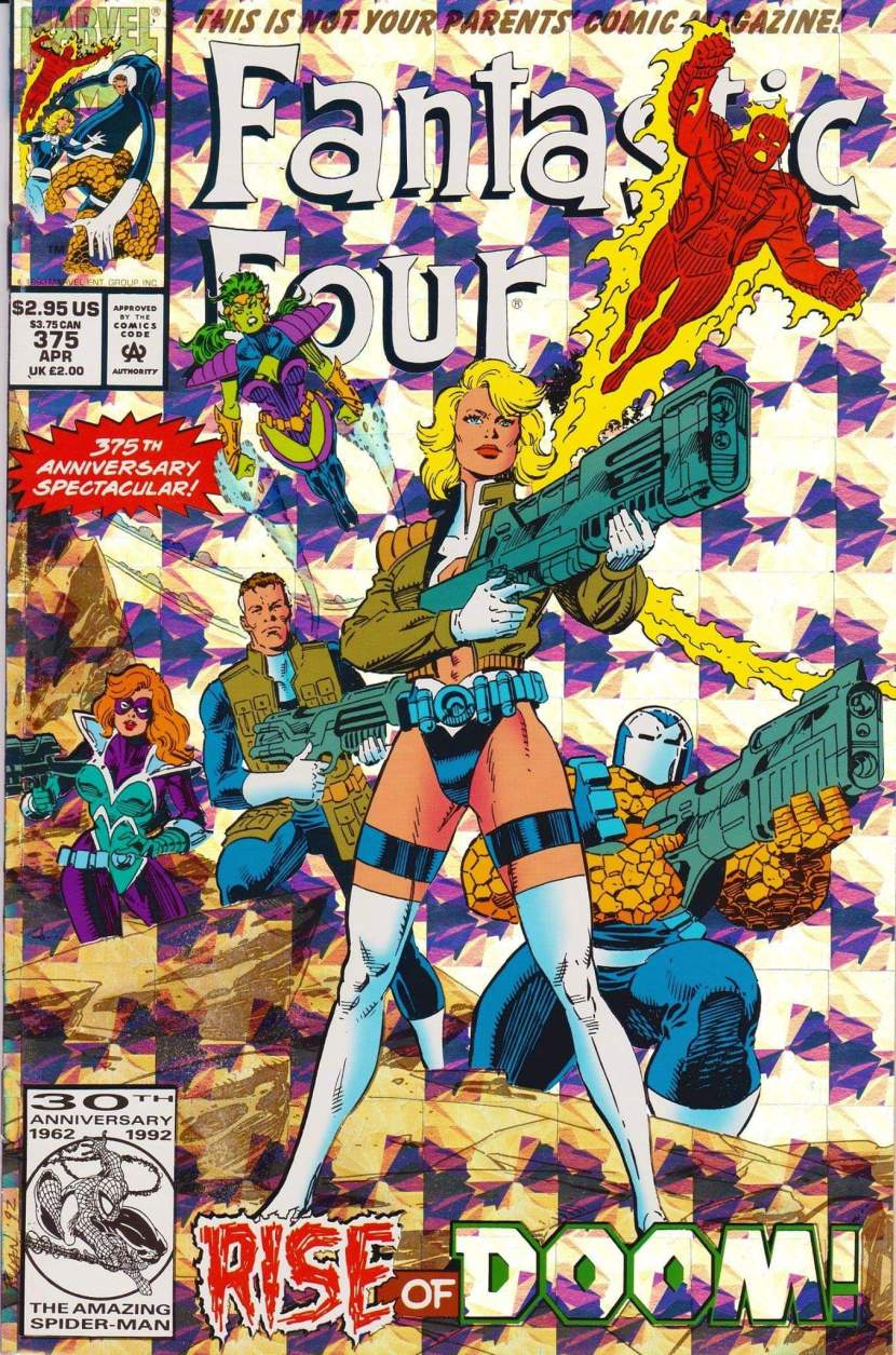 A Look Back At Fantastic Four #375(1993)