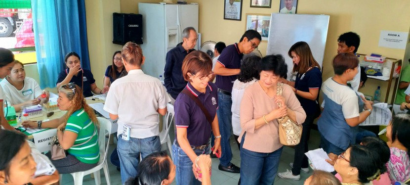 130 Patients Served With Free Services in BF Homes Medical Mission