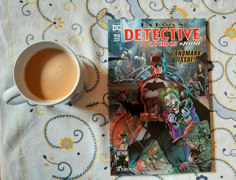 Carlo Carrasco's Comic Book Review: Detective Comics#1000