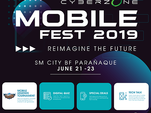 Cyberzone Mobile Fest 2019 at SM City BF Parañaque This Weekend!