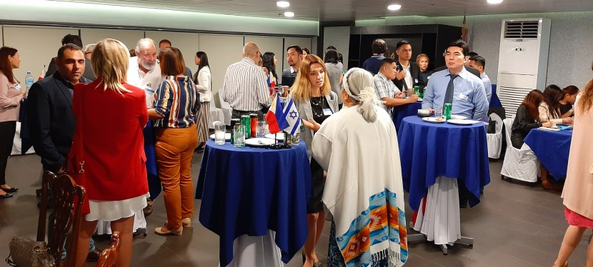 The Israel Chamber of Commerce of the Philippines' Members Networking Night