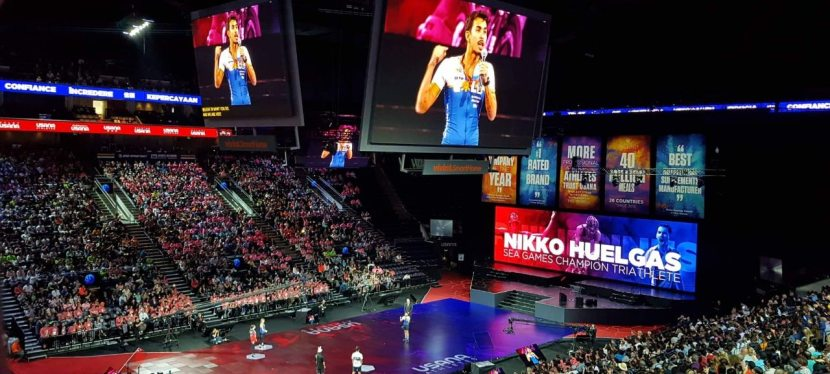 Nikko Huelgas at 2019 USANA Live Global Convention