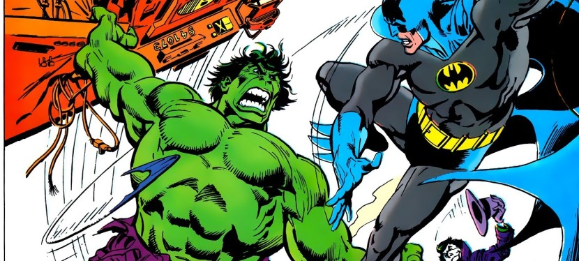 A Look Back At Batman vs. The Incredible Hulk