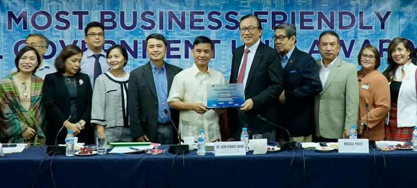 Muntinlupa Qualifies for PCCI Most Business-Friendly LGU Award