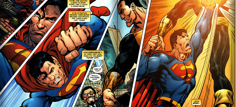 To Warner Bros. and the Filmmakers, Please Have Superman (Henry Cavill) and Black Adam (Dwayne Johnson) Clash Together on the BigScreen!