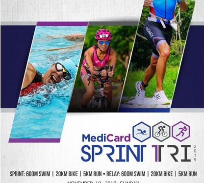 PRESS RELEASE: 2nd MediCard Sprint Triathlon in Clark on November 10