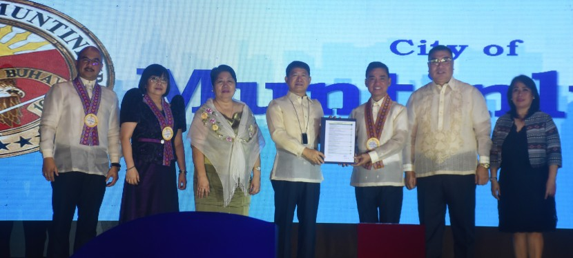 Muntinlupa City is among 2019 Seal of Good Local Governance (SGLG) awardees