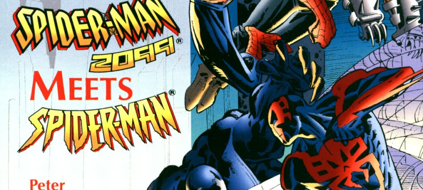 A Look Back At Spider-Man 2099 Meets Spider-Man