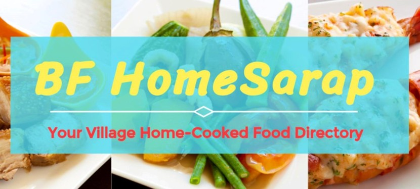 Spotlight on BF HomeSarap, The Village Home-Cooked Food Directory
