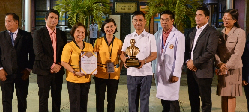 Muntinlupa City wins DOH Gawad Jose Rizal Award anew for 4th consecutive year