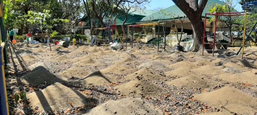 Tahanan Village Playground Being Redeveloped