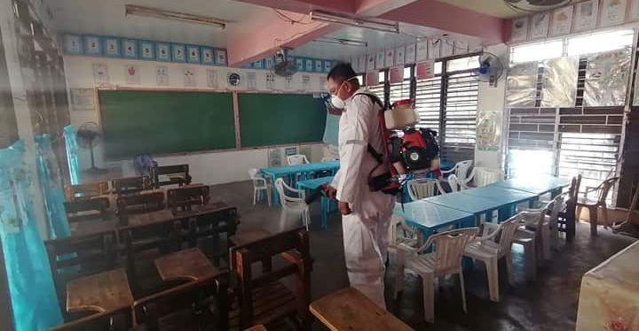 Schools and Government Facilities in Muntinlupa Disinfected To Prevent COVID-19 Outbreak