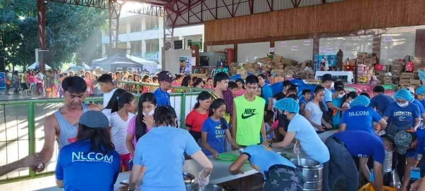 New Life Community Care Feeds and Assists Taal Volcano Eruption Victims
