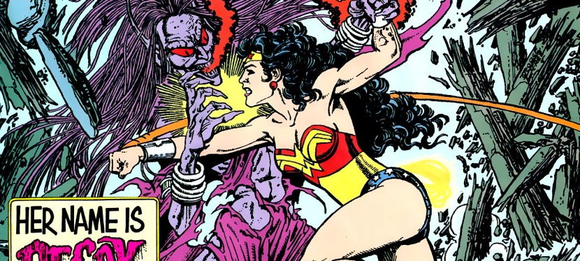 A Look Back at Wonder Woman #4 (1987)