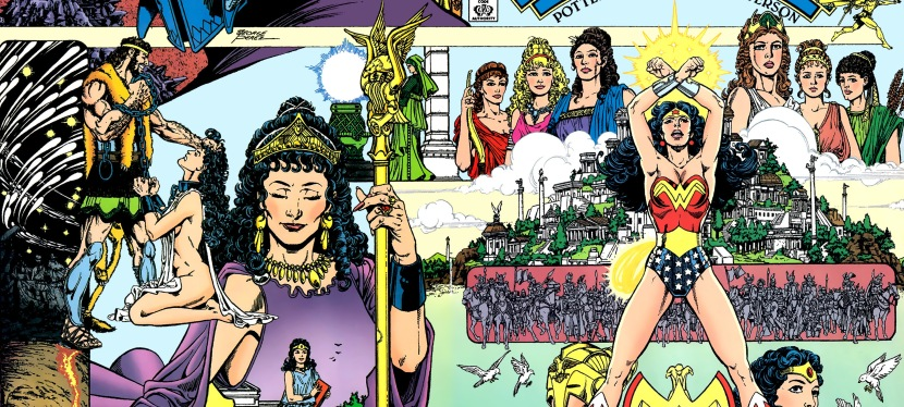 A Look Back at Wonder Woman #1 (1987)