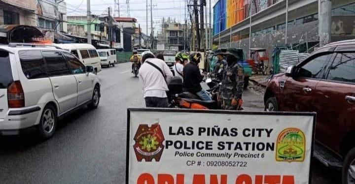 Las Piñas City Police Force at Work – June 12, 2020