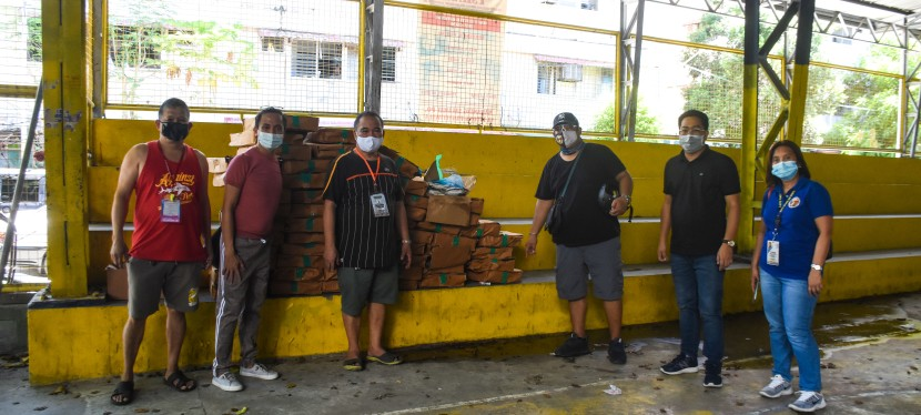 Muntinlupa City receives frozen fish donation from OCD