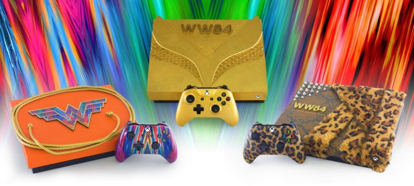 Wonder Woman 1984-themed Xbox One X game consoles announced and a movie-related comic book is coming!