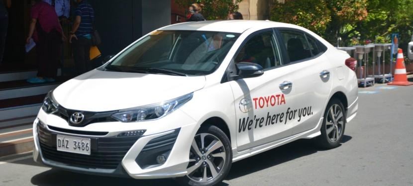 COVID-19 Crisis: Toyota Philippines Donates Vios to Ospital ngMuntinlupa