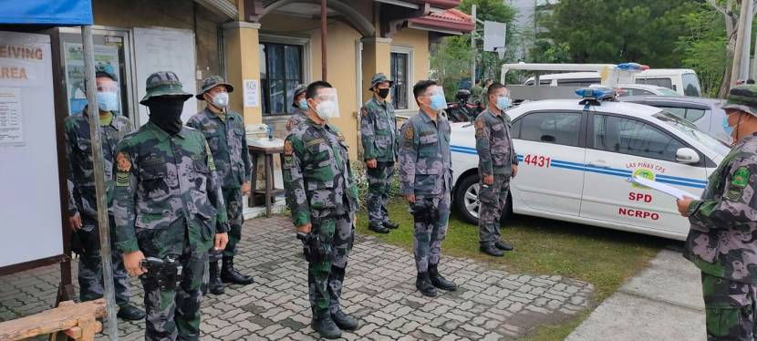 Las Piñas City Police Force at Work – September 25, 2020