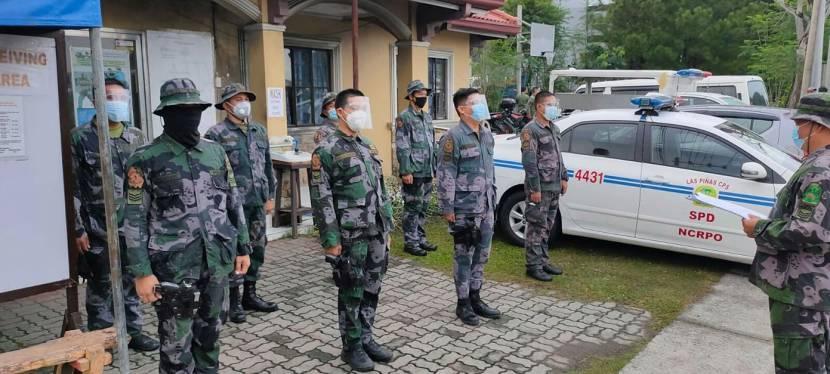 Las Piñas City Police Force at Work – September 25,2020
