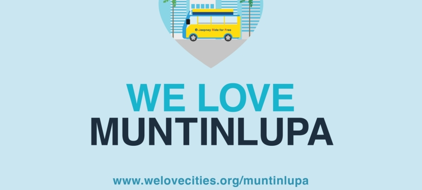 Muntinlupa City represents Philippines in WWF's We Love Citiescampaign