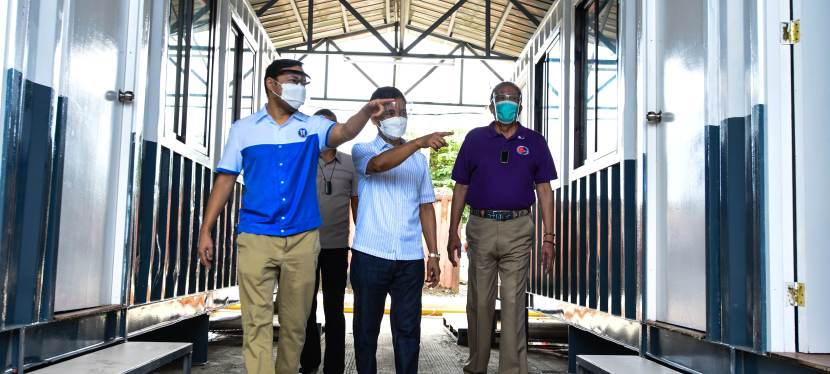 COVID-19 Crisis: New 144-bed 'We Heal As One' quarantine facility opens in Muntinlupa City