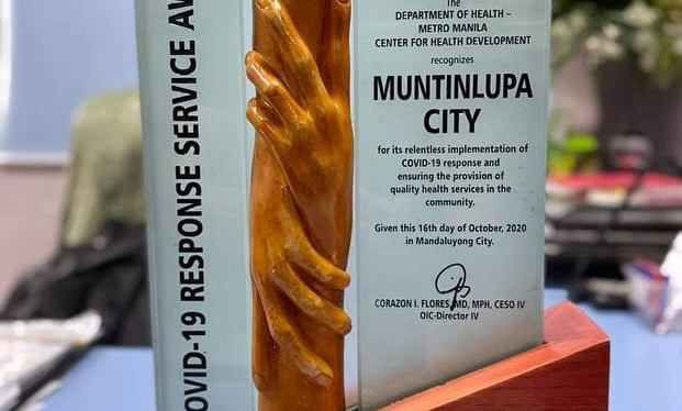 COVID-19 Crisis: Muntinlupa records lowest COVID-19 prevalence, 2nd lowest active cases inNCR