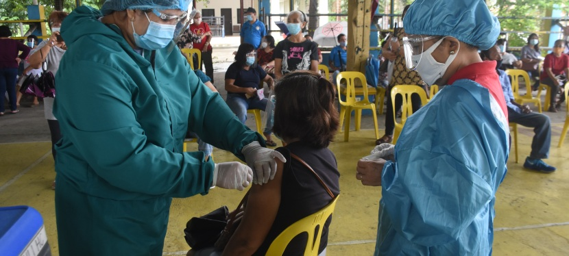 COVID-19 Crisis: Muntinlupa launches anti-flu, pneumococcal vaccination drive for elderly to help curbCOVID-19