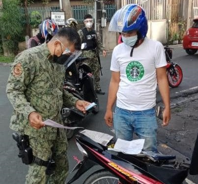Las Piñas City Police Force at Work – December 29, 2020