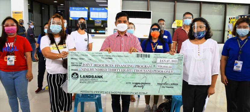 COVID-19 Crisis: Muntinlupa City releases zero-interest loan to local entrepreneurs for their recovery amid pandemic