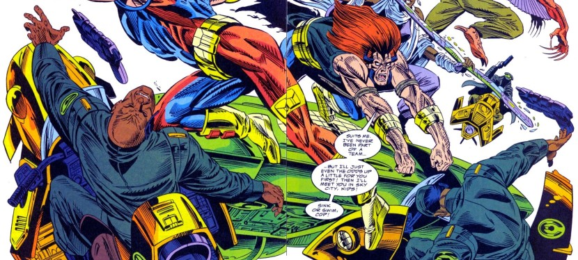 A Look Back at Ravage 2099 #15(1994)