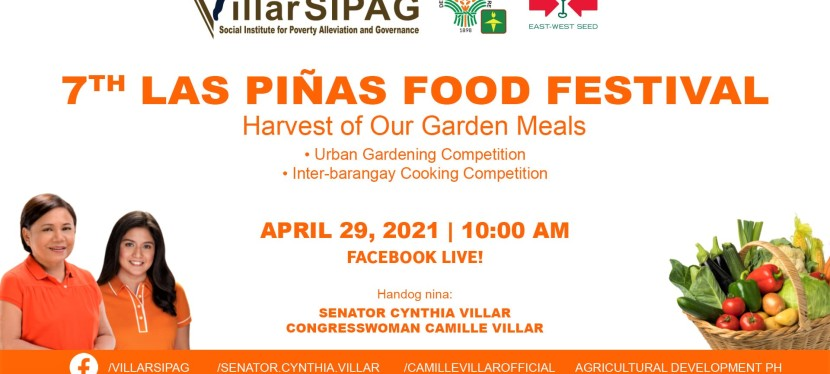 7th Las Piñas Food Festival all set for April 29 via Facebook