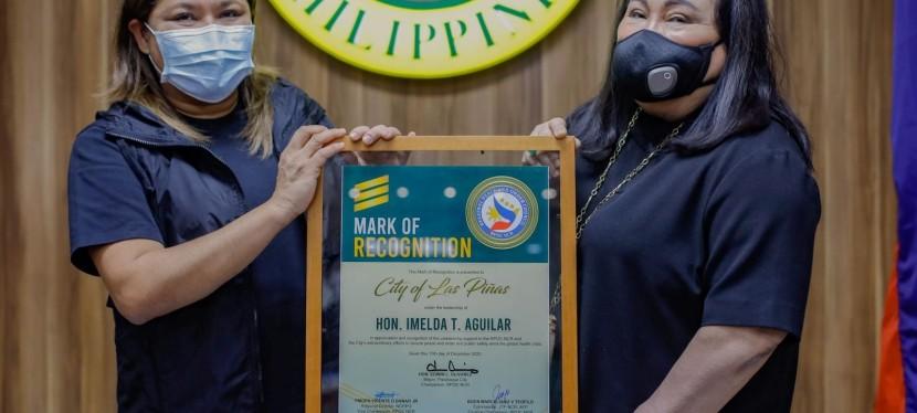 Las Piñas City Mayor Aguilar honored byRPOC-NCR