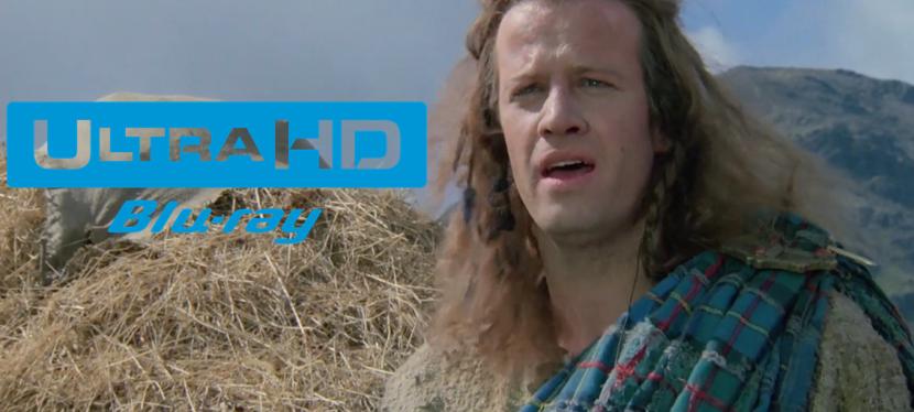 Better than Streaming: Highlander anniversary 4K Blu-ray set for September 14, 2021release