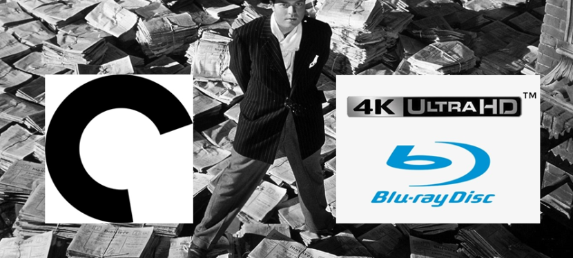 Better than Streaming: Classic film Citizen Kane leads Criterion Collection's first 4K Blu-raytitles!