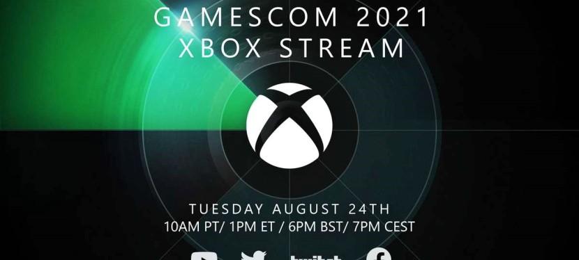 Xbox Gamescom 2021 digital event set for August24