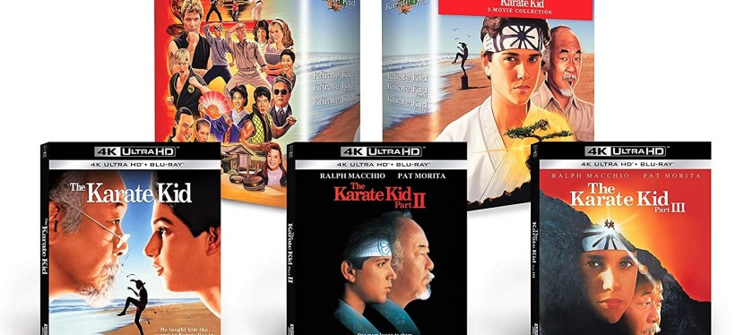 Better than Streaming: The Karate Kid Collection 4K Blu-ray coming out on December 7,2021