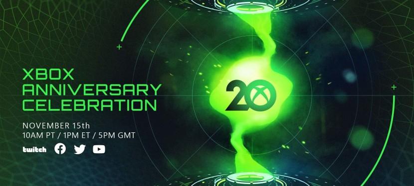 Xbox 20th Anniversary Celebration online set for November 15,2021